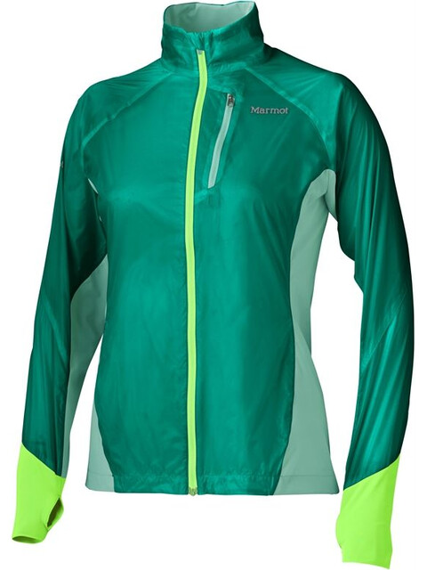 Marmot W's Dash Hybrid Jacket Gem Green/Ice Green